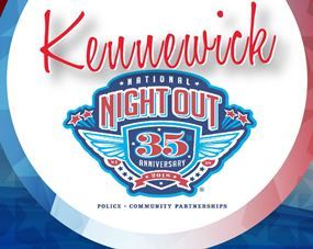 Kennewick National Night Out Logo